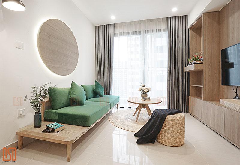 Thiết kế - thi công nội thất chung cư 3 ngủ Gamuda Garden